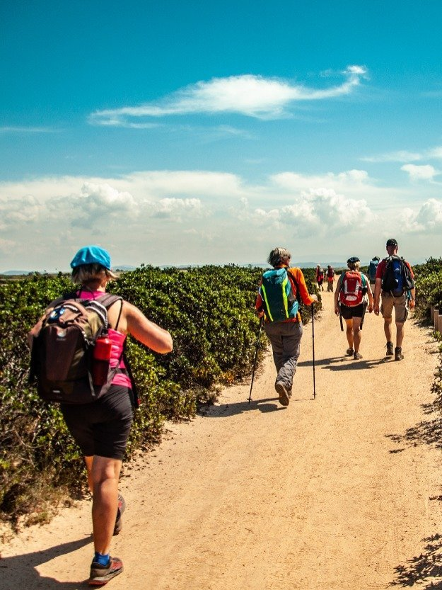 Trekking in Estate