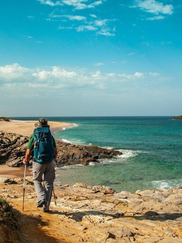 trekking sulla costa