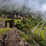 L'entrata del sito di Choquequirao lungo il Trekking in Perù