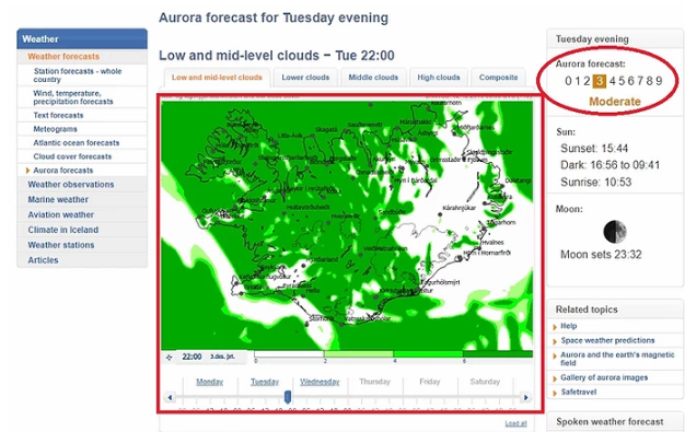 aurora-forecast