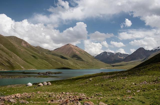 campamento-yurta-lago-son-kul-in-kirghizistan