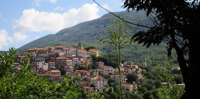 Il Borgo antico di Rofrano e Monte Centaurino