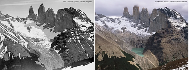 Torri-del-paine-ghiacciaio-confronto-fotografico-de-agostini