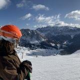 Panorama sulle piste della Val Gardena